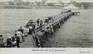 The first Red Cliff Point Jetty